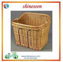 Bike basket willow bicycle basket bicycle accessories