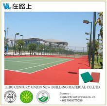 badminton court sports flooring, outdoor badminton court flooring, synthetic badminton court flooring
