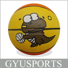 GY-D033 cute animal hot sale basketball balls for kids
