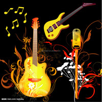 Most popular Customised colorful promotional high quality guitar strap/belt on sale