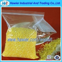 Heavy duty clear food grade plastic grip seal bag