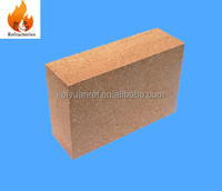 Chamotte refractory brick for heating furnace