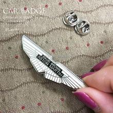 Design Your Own Metal Logo Car Badge Lapel Pin , Wings badge