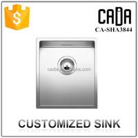 exquisite workmanship high quality useful quiet modern kitchen design cheap single mini sink bowl