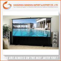 2015 Gengen custom electric projection screen/large Projector Screen
