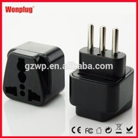 Hot Selling 250V 10A Italy Travel Adapter Plug With CE&RoHS