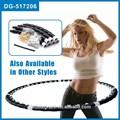 De la aptitud del aro del hula, magnética masaje hula hoop, abs de gimnasia del aro del hula, profesional hula hoop