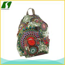 disegno popolare a buon mercato promozionali ragazze stampa cotone e tela jansports zaini scuola