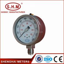 high quality bourdon tube wika pressure gauge