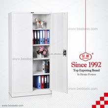 Hot cheap wooden bookshelf , classical design MDF paint office filing cabinet