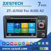 touch screen car dvd gps for AUDI A3(Unilateral button) with bluetooth 3G RDS 2 din car radios with navigation