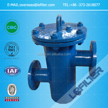 SS Basket Filter/Basket Strainer DN80 (high-low type)