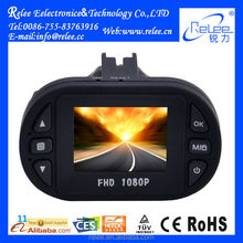 Good infrared night vision loop recording Full HD 1080P car dvr camera