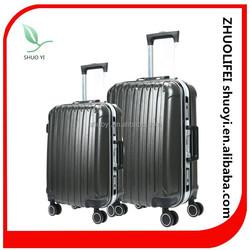 100% pure pc luggage set ,hard shell travel suitcase