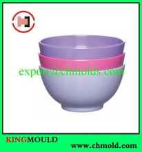 Conventional stackable bowl plastic injection mould Durable in use