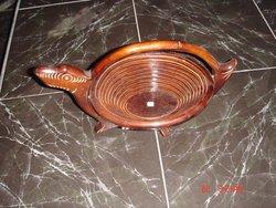 Wooden Teak Fruits Basket