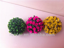 Decorative artificial flower ball for indian wedding decorations