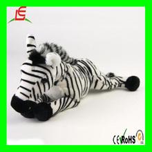 LE B180 Real animal stuffed Zebra plush animal toy