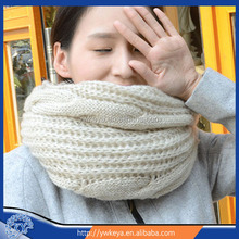10 colors Women Infinity Scarf Long Winter Warm Knitted Scarves Shawl Neck Wrap Fashion