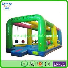 challenge sports game inflatable gauntlet/ inflatable gauntlet game/ inflatable gauntlet game for rental