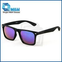 Rubber Finished Sunglasses With Mirror Lens Silhouette Eyeglasses