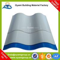 Ultra weathering economical 800*800mm carbon fiber upvc roof tile