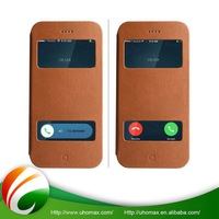 Top Class Custom-Made Wallet Card Holder Leather Case For Iphone 5 5G