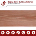 Decorativo externa paredes / de fibra de cemento materiales