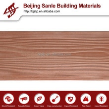 Decorative external walls/fiber cement materials