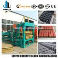 Qt6-15 de hormigón de ladrillo que hace la máquina en zambia