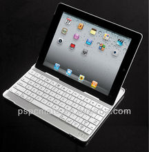 Black Aluminum Wireless Bluetooth Keyboard Case Cover for Apple iPad 4