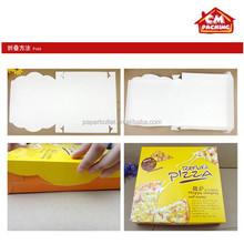 triangle pizza box in factory price
