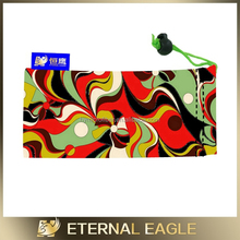 Wholesale polyester drawstring bags /black velvet jewellery pouch/microfiber pouches for glasses