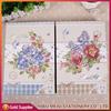 Custom Design Recycled Paper Cover Handmade PVC Sheet 4x6 Sticker Photo Album