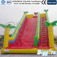Tiger Jungle Theme Giant Inflatable Slide For Kids And Adults