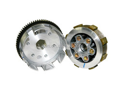CG200 Motorcycle clutch assembly, 200CC motorcycle clutch driven, 6 holes motorcycle clutch,High quality motorcycle Engine parts
