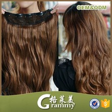 hot sale hightest quality 7A grade virgin claw clip ponytail