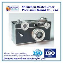China lower price magnesium aluminum die casting camera,die casting housing parts