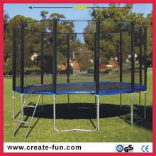 CreateFun EU standard children garden use cheap large sized 13ft kids big outdoor trampoline