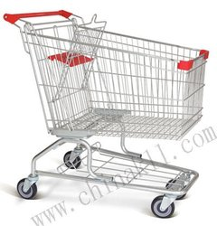 supermarket shopping cart supermarket shopping trolley in American style