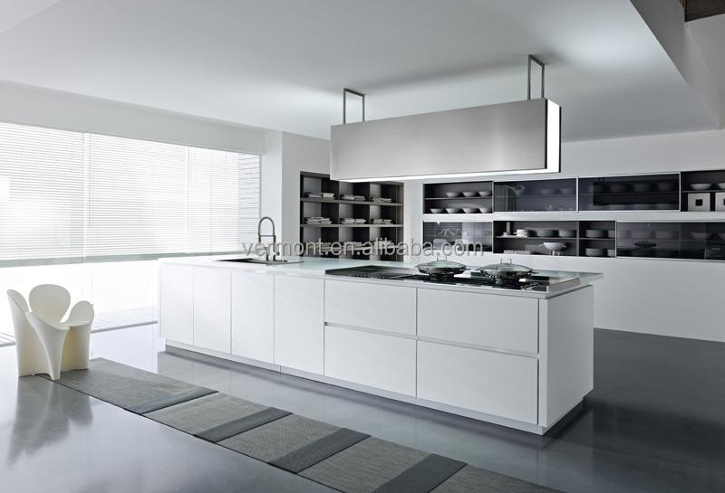 Groothandel u vorm lak modulaire keuken muur opknoping kast keuken kasten product id 60072854547 - Modulaire muur ...