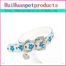 Fancy pattern pet collar,rhinestone dog collar
