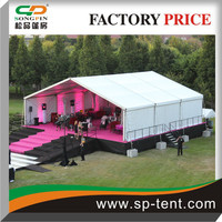outdoor music festivals 15x15m stage shelter Tents over flat stage