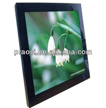 video player digital frame photo 17 inch , high resolution digital photo frame