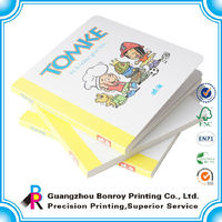 Direct factory children cardboard printing book in China