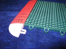 Varies snap lock flooring basketball covering tiles
