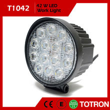 2012 new products ! High power 42W 12V 24V DC LED worklights for trucks,Off road,industrial,Car,ATV,SUV,Forklifts.