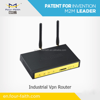 F3124 GPRS Industrial Wifi Router with sim card slot ethernet port RJ45 RS232 for Vending Machine Wireless Networking