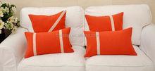 Orange Lace pillow cover cushion
