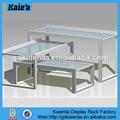 Tapa de la mesa de vidrio vitrina/mesa vitrina/exhibición del plexiglás mesas